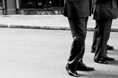 Men in tuxedo