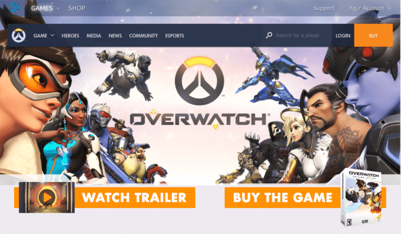 Overwatch official site