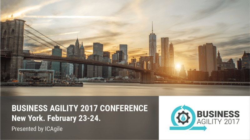 Business Agility Conference 2017